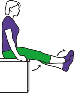 Leg cross